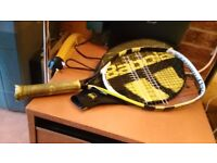 Mid size tennis racket for children up to 11 years old