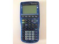 Texas Instrument Ti 83 Plus calculator