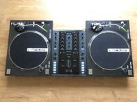 Full DJ Set Up, Mint Condition Traktor Z2 and Reloop RP-7000 Turntables With Ortofon Carts