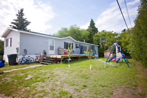 2013 mobile home on lot or to be moved
