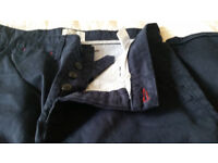 Norse Projects Men's Dark Blue Chino Size 31
