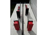 12 Bessey K body clamps various lengths