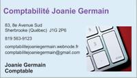 Comptabilité Joanie Germain\\ + de 5 ans d'expérience