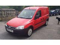 2010 / 59 PLATE Vauxhall Combo 1.3CDTi 16v 1700 Panel Van 1248cc NO VAT NO VAT