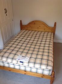 double bed inc mattress