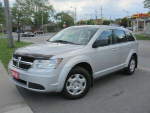 NICE FAMILY 2010 DODGE JOURNEY SE 7 PASSENGER $6,999 CERTIFIED