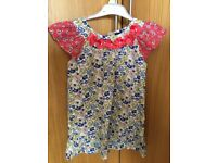 Girls tunic top/dress from M&S