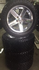 4 tires 33 in x 12.50 R20 Atturo Trail Blade 5x139.7 Dodge Ram