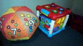 Interactive early years toys