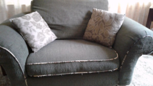 LARGE CHAIR AND COUCH