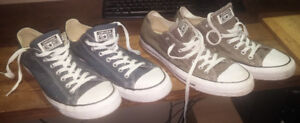 Two pairs of Men's Converse - New