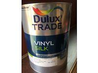 Blue dulux paint