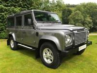 ICONIC LAND ROVER DEFENDER 110 XS COUNTY STATION WAGON 2.4TDCI 1OWNER 21,000MILE