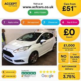 Ford Fiesta ST 2 FROM £51 PER WEEK!