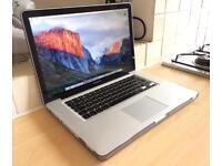"MacBook Pro 15"" | Core i7 3.3GHz | 16GB Memory | 1TB or 128GB SSD | Adobe CS6, Logic, WARRANTY"