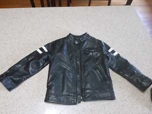 4/5 year H&M faux leather coat