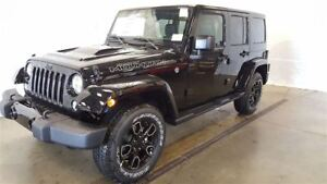 2017 Jeep WRANGLER UNLIMITED Sahara Smoky Mountain +Cuir+