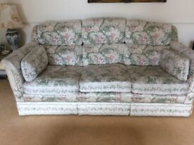 2 x 3-seater sofas for sale, excellent condition