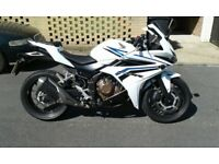 2016 HONDA CBR500R ABS STILL UNDER WARRENTY VERY QUICK SALE REDUCED TO CLEAR