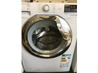 Hoover 8 kg washing machine in mint condition with a warranty of three months