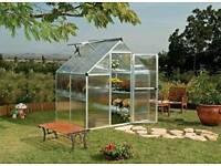 New Palram Mythos 6x4 silver greenhouse