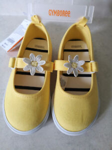 BRAND NEW GYMBOREE TODDLER GIRL SHOES, SIZE 10