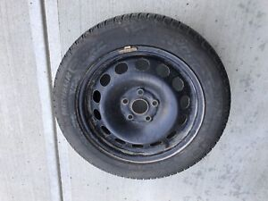 Winter Tires 255/55/R16 and Rims 5X100 Lug