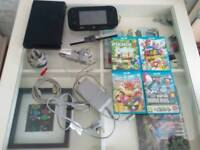Nintendo Wii U premium 32gb with 5 games inc Mario Kart 8