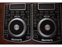 Newmark NDX400 with Behringer DJX700 mixer