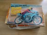 Vintage motorbike toy