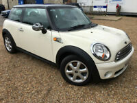 2008 '58' Mini Cooper 1.6. Petrol. Manual. Sport Hatch. Px Swap