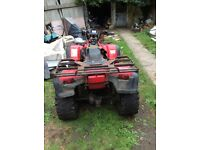 Honda quad 500cc