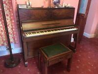 W.H Barnes piano