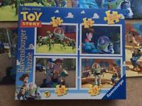 Toy Story and Cars jigsaw puzzles NGZZ