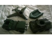 Action Man vehicles - collectable
