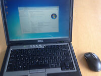 "Dell Latitude D620 14.4"" 4GB RAM 64GB SSD Windows 7"