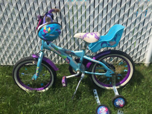 16 inches girl bike / velo fillette