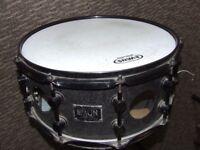 "14"" x 6.5"" Vented - 'Spaun' - Steel Snare Drum."