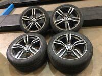 "19"" alloy wheels Alloys Rims tyres bmw 5 6 7 8 series Vw Volkswagen transporter cheappppp"