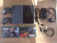 Xbox 1 1Tb, 2 Controllers, 4 Games