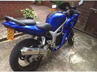 Suzuki SV650S 1999 Model £1400 ovno