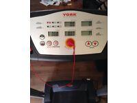York fitness foldable treadmill
