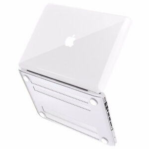 "*NEW* Clear Soft-Touch Plastic Cover for Macbook Pro 13"" (A1278)"
