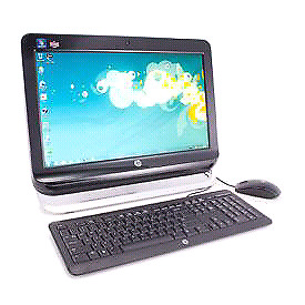 "ALL IN ONE HP 120 , 20""  500g/4g/i3/hd/dvd/cam"