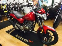 New Kiden Pisces 125cc Euro 4 Motorcycle £1499 OTR