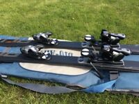 Skis Blizzard 170cm ,saloman bindings and ski carry bag