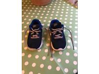 Children's size 10 Nike trainers