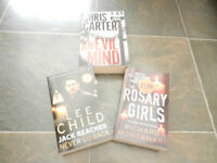 3 Paperback Books - Thillers