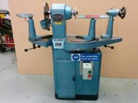 Ex High School Vicerol TDS6 Bowl Turning Lathe. Nationwide delivery available.