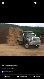 2013 international 7500 dump truck